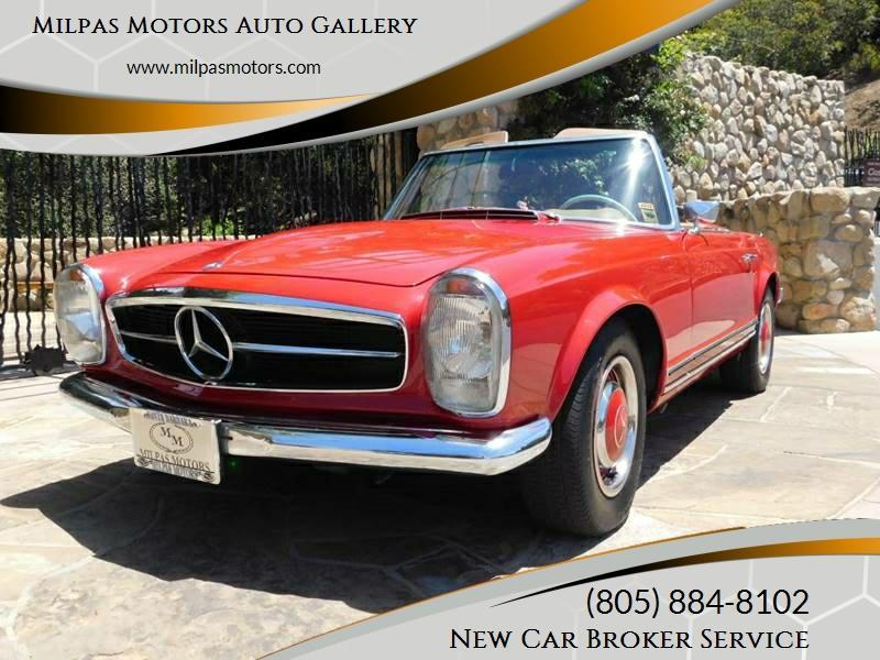 1967 Mercedes Benz SL Class   Santa Barbara CA