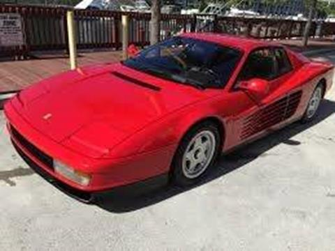 1987 Ferrari Testarossa for sale at Milpas Motors in Santa Barbara CA
