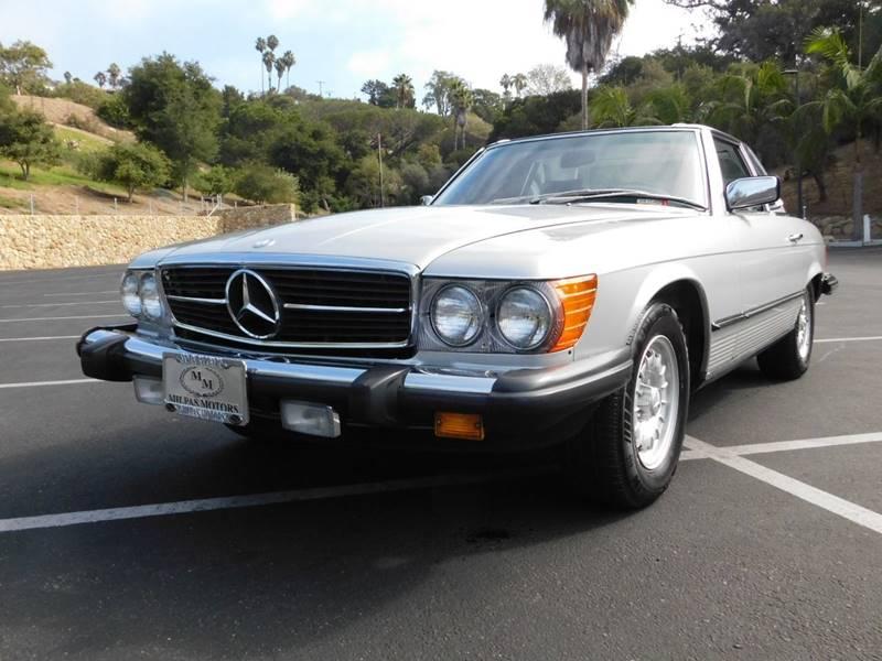 1985 Mercedes Benz 380 Class 380 SL 2dr Convertible   Santa Barbara CA