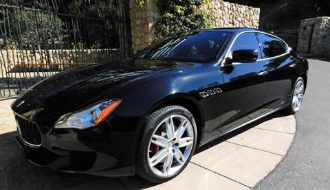 2014 Maserati Quattroporte for sale at Milpas Motors in Santa Barbara CA