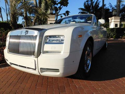 2013 Rolls-Royce Phantom Drophead Coupe for sale at Milpas Motors in Santa Barbara CA