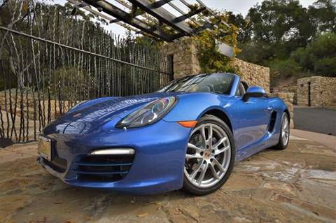 2014 Porsche Boxster for sale at Milpas Motors in Santa Barbara CA