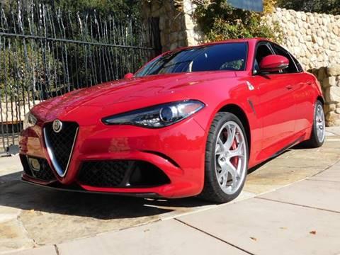 2018 Alfa Romeo Giulia Quadrifoglio for sale at Milpas Motors in Santa Barbara CA