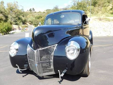 1940 Ford Tudor for sale at Milpas Motors in Santa Barbara CA