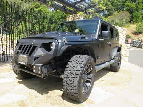 2012 Jeep Wrangler Unlimited for sale at Milpas Motors in Santa Barbara CA