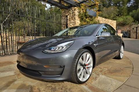 2018 Tesla Model 3 for sale at Milpas Motors in Santa Barbara CA