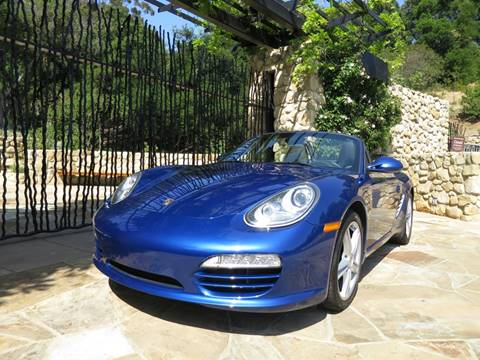 2010 Porsche Boxster for sale at Milpas Motors in Santa Barbara CA