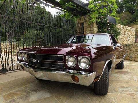 1970 Chevrolet El Camino for sale at Milpas Motors in Santa Barbara CA