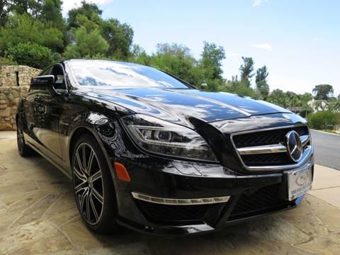 2012 Mercedes-Benz CLS for sale at Milpas Motors in Santa Barbara CA