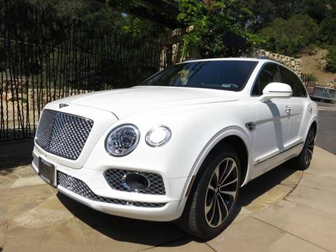 2017 Bentley Bentayga for sale at Milpas Motors in Santa Barbara CA