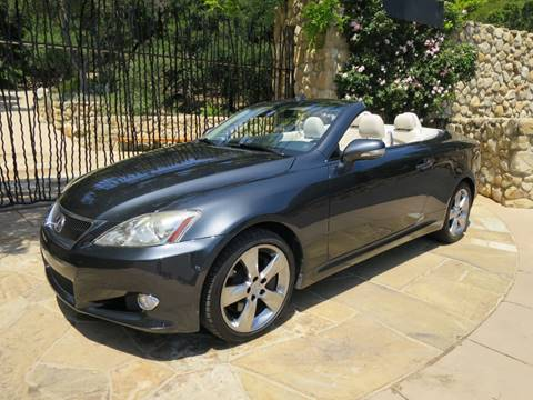 2010 Lexus IS 350C for sale at Milpas Motors in Santa Barbara CA