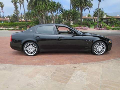 2011 Maserati Quattroporte for sale at Milpas Motors in Santa Barbara CA