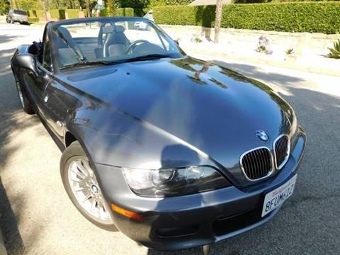 2001 BMW Z3 for sale at Milpas Motors in Santa Barbara CA