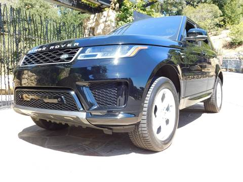 2018 Land Rover Range Rover Sport for sale at Milpas Motors in Santa Barbara CA