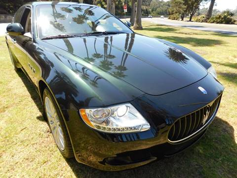 2009 Maserati Quattroporte for sale at Milpas Motors in Santa Barbara CA