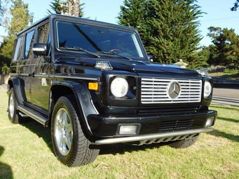 2003 Mercedes-Benz G-Class for sale at Milpas Motors in Santa Barbara CA