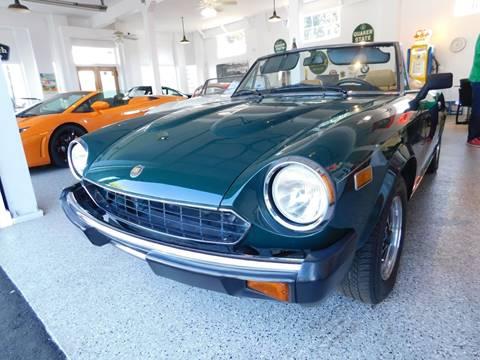 1979 FIAT 124 Spider for sale at Milpas Motors in Santa Barbara CA