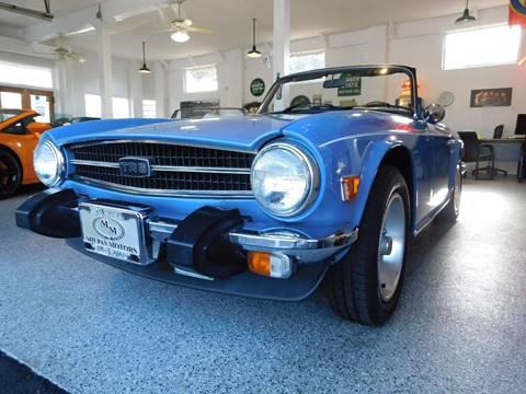 1974 Triumph TR6 for sale in Santa Barbara, CA