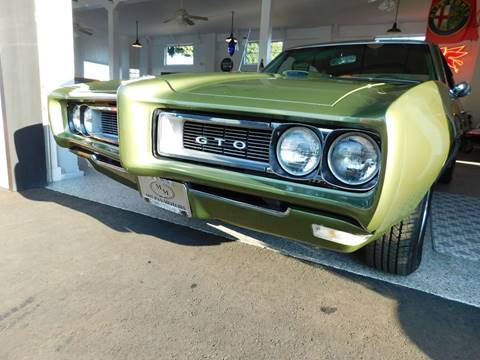 1968 Pontiac GTO for sale in Santa Barbara, CA