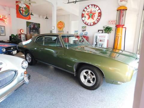 1968 Pontiac GTO for sale at Milpas Motors in Santa Barbara CA