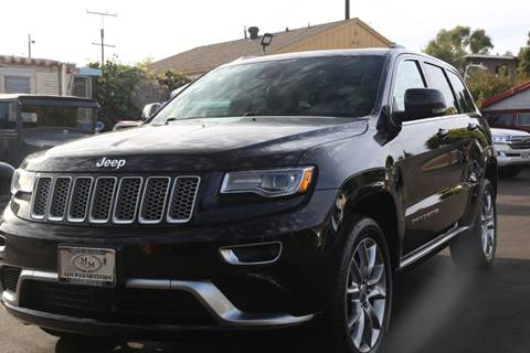 2015 Jeep Grand Cherokee for sale at Milpas Motors in Santa Barbara CA