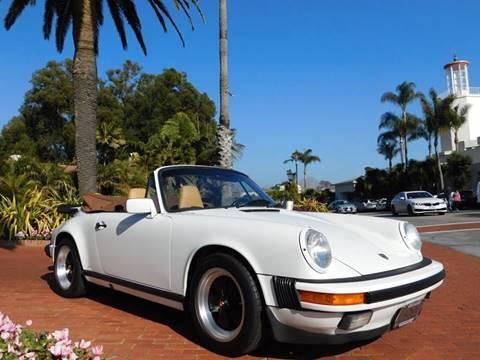 1988 Porsche 911 for sale at Milpas Motors in Santa Barbara CA