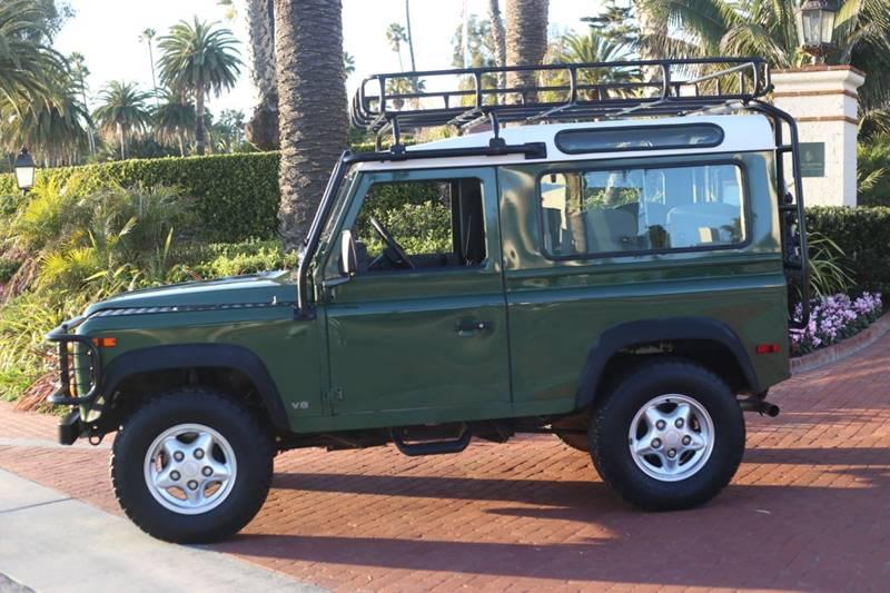 1997 Land Rover Defender for sale at Milpas Motors in Santa Barbara CA