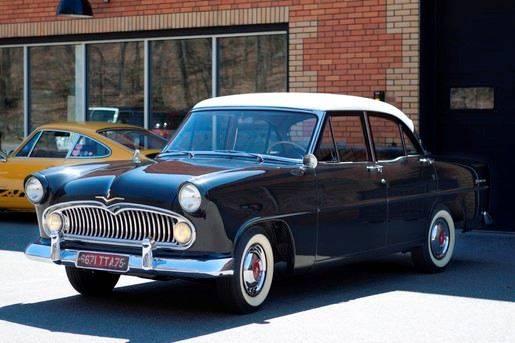 1957 simca vedetta versailles for sale at Milpas Motors in Santa Barbara CA