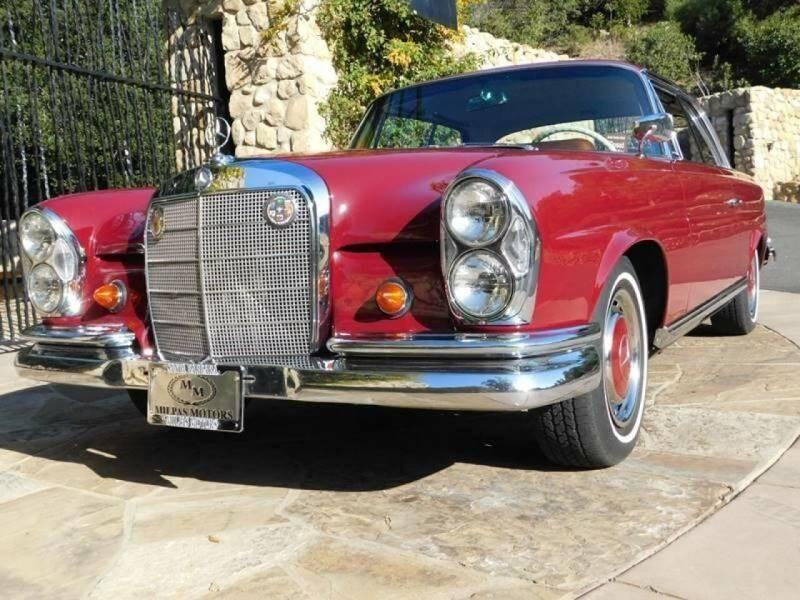 1962 Mercedes-Benz 220se for sale at Milpas Motors in Santa Barbara CA