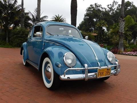 1957 Volkswagen Beetle for sale at Milpas Motors in Santa Barbara CA