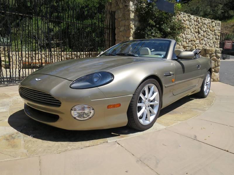 2002 Aston Martin DB7 for sale at Milpas Motors in Santa Barbara CA