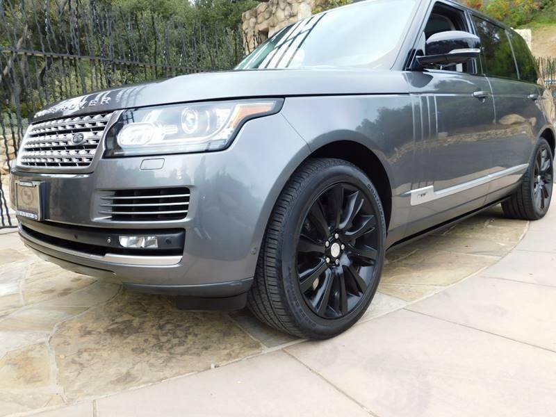 2015 Land Rover Range Rover for sale at Milpas Motors in Santa Barbara CA