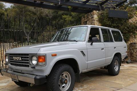 1985 Toyota Land Cruiser for sale at Milpas Motors in Santa Barbara CA