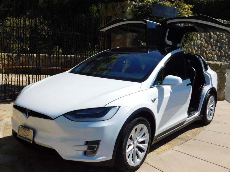 2017 Tesla Model X for sale at Milpas Motors in Santa Barbara CA