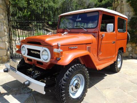 1977 Toyota Land Cruiser for sale at Milpas Motors in Santa Barbara CA