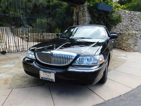 2010 Lincoln Town Car for sale at Milpas Motors in Santa Barbara CA