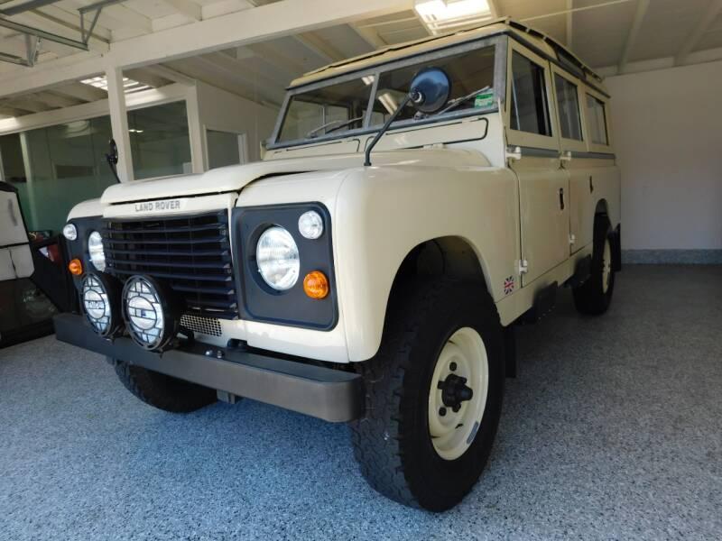 1964 Land Rover Defender for sale at Milpas Motors in Santa Barbara CA