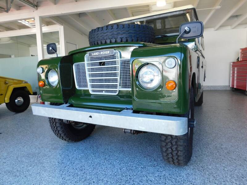 1972 Land Rover Defender for sale at Milpas Motors in Santa Barbara CA