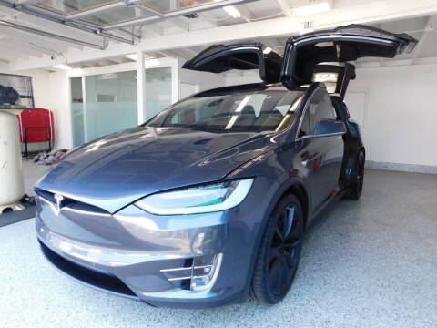 2018 Tesla Model X for sale at Milpas Motors in Santa Barbara CA
