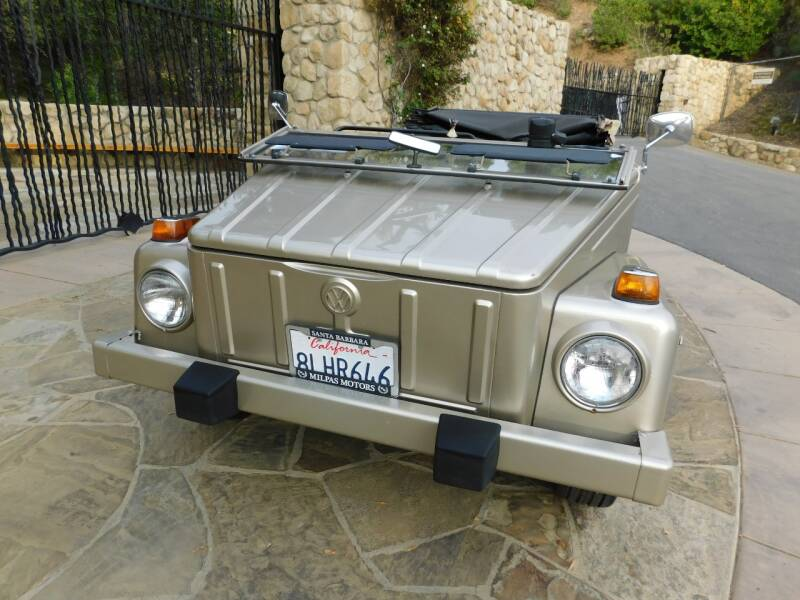 1974 Volkswagen Thing for sale at Milpas Motors in Santa Barbara CA