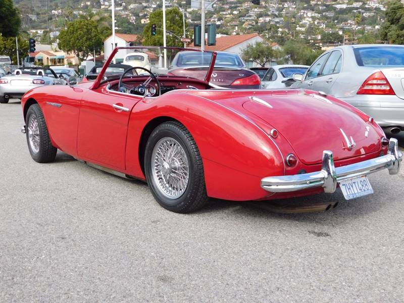 1962 Austin-Healey 3000 Mark II  - Santa Barbara CA