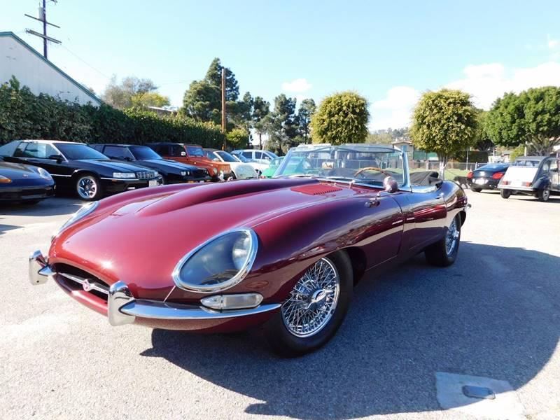 1967 Jaguar E-Type for sale at Milpas Motors in Santa Barbara CA