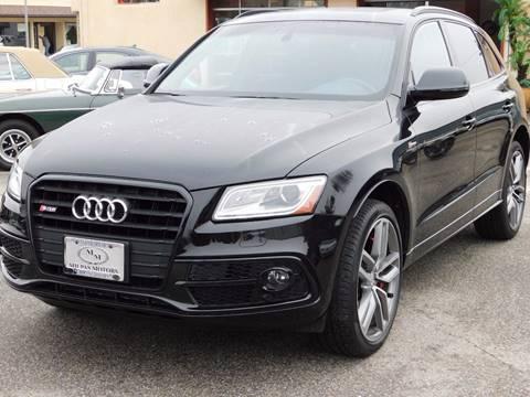 2016 Audi SQ5 for sale in Santa Barbara, CA