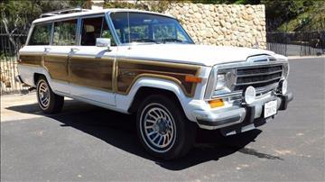1989 Jeep Grand Wagoneer for sale in Santa Barbara, CA