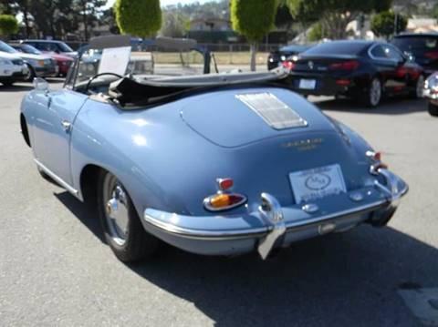 1960 Porsche 356 B Cabriolet