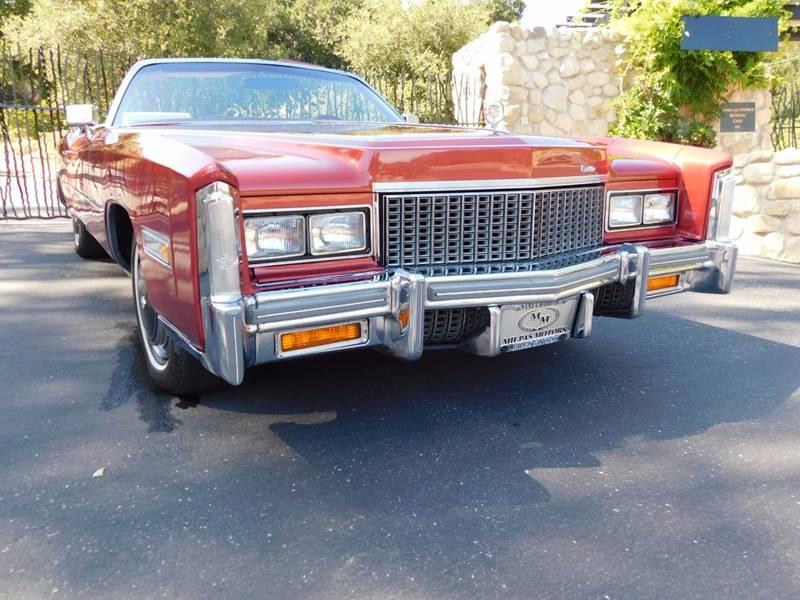 1976 Cadillac Eldorado  - Santa Barbara CA
