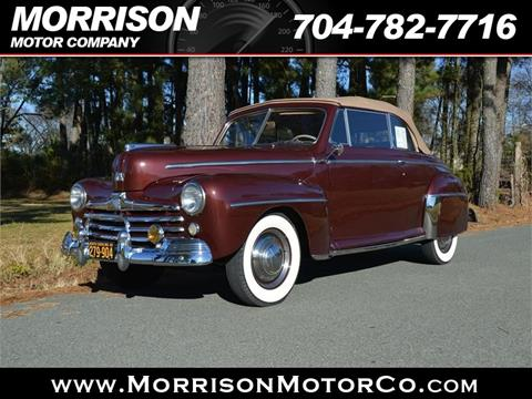 1948 Ford Super Deluxe for sale in Concord, NC