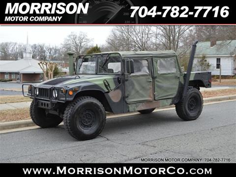 1985 AM General Hummer for sale in Concord, NC