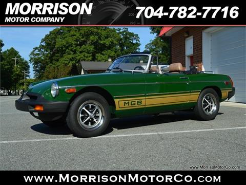 1980 MG MGB For Sale In Concord NC