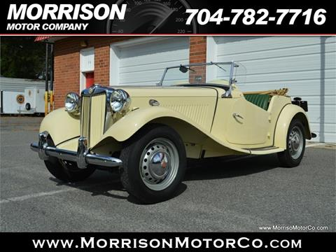 1953 MG TD 1500 for sale in Concord, NC